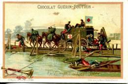Chocolat Guerin Boutron  Série Moyen De Transports N°65 La Voiture D´ambulance - Guerin Boutron