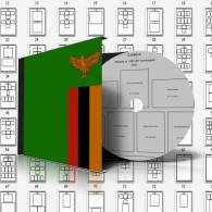 ZAMBIA STAMP ALBUM PAGES 1964-2010 (248 Pages) - Software