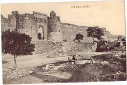 Vintage Postcard, Old Fort, Delhi, India (ref.#-2714e) - Inde