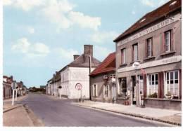 Marolles,par Broué - La Grande Rue Et L'hôtel Des Voyageurs - Ohne Zuordnung