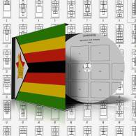 ZIMBABWE STAMP ALBUM PAGES 1980-2009 (81 Pages) - Software