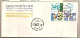 Italia - Busta Cpeciale: Centenario Del Trasporto Pubblico A Bologna - 1977 - Stage-Coaches
