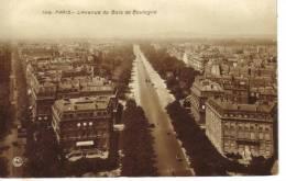 Parigi-l'avenue Dubois De Boulogne -formato Piccolo - Francia