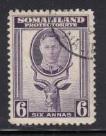Somaliland Protectorate Used Scott #89 6p Greater Kudu - Somaliland (Protectorate ...-1959)