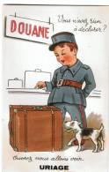 38 - Uriage - Carte  à Systeme -Douane -  10 Vues - Uriage