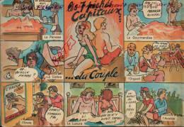 CPA FANTAISIES, HUMOUR, LES 7 PECHES CAPITAUX, La Pilule ,  Jan 2013-div 0295 - Illustrateurs & Photographes