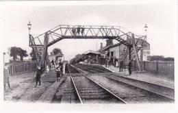 DOWNTON RAILWAY STATION - PHOTOGRAPH - England