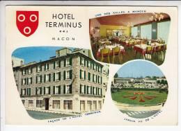 MACON 71 - Hotel Restaurant TERMINUS - CPSM CPM GF - CHR - France