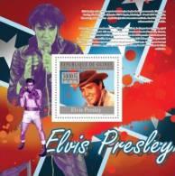 gu10123b Guinea 2010 Elvis Presley s/s Boxing