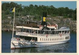 CPA-1995-SUEDE-FERRY-S/SN ORRSKAR De 1910-LIAISON STOCKHOLM  ARCHIPELAGO-TBE - Paquebots