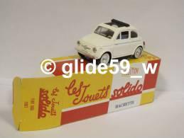 Solido FIAT 500 (1957) - Réédition Hachette Collection (NEUVE ! Avec Boîte D'origine) - Solido