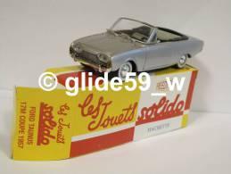 Solido FORD TAUNUS 17M COUPE (1957) - Réédition Hachette Collection (NEUVE ! Avec Boîte D'origine) - Solido