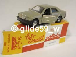 Solido MERCEDES 190 RACING (1986) - Réédition Hachette Collection (NEUVE ! Avec Boîte D'origine) - Solido