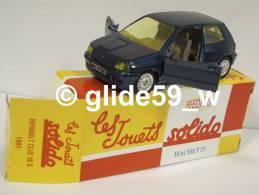 Solido RENAULT CLIO 16 S (1991) - Réédition Hachette Collection (NEUVE ! Avec Boîte D'origine) - Solido