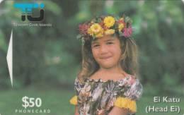 COOK ISL.(GPT) - Ei Katu/Matirita, CN : 02CIE, Tirage 10000, Used - Isole Cook