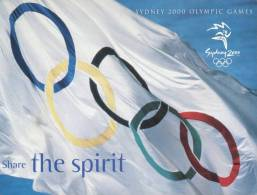 (650) Carte Postale De Sport - Sydney 2000 Olympic Games - Cartes Postales