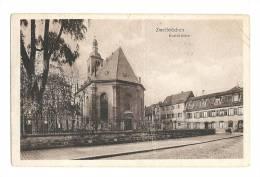 Cp, Allemagne, Zweibrücken, Karlskirche - Zweibruecken