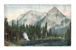 Cp, Canada, Travelling Through The Cascade Mountains - Alberta
