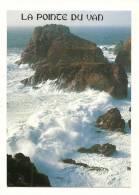 Cp, 29, Cleden - Cap Sizun, La Pointe Du Van, Le Rocher Morgane Un Jour De Tempête - Cléden-Cap-Sizun