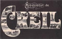 60 CREIL SOUVENIR DE CREIL MULTIVUE EDITION CHALBRETTE - Creil