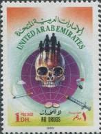 AP1038 UAE 1993 Narcotics, Skull 1v MNH - Droga