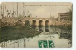 SAINT ANDRE DE CRUZIERES - Avenue De Saint Ambroise - Pont De Claysse Animé - RARE - Edition G. Gascuel - 2 Scans - Unclassified