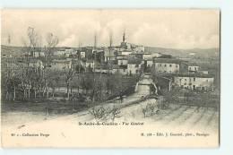 SAINT ANDRE DE CRUZIERES - Vue Générale -  Collection Perge N°1 - Editeur Gascuel - 2 Scans - Unclassified