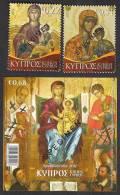 CYPRUS Republic 2012 Christmas Full Set Of 2v + Ms, With SPECIMEN Overprint MNH - Cyprus (Republic)