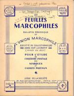 Les Feuilles Marcophiles 1966 N°170 , Cachtes Entrepot, Cachets Type 11 Divers Articles,  Bon état - Zonder Classificatie