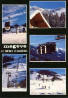 74 - MEGEVE - MULTIVUES - TELECABINE ET TRANSVAL - Megève