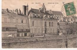 Loir Et Cher:- GARE DE BLOIS Dateur Type A4 - Posta Ferroviaria