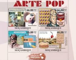 m11503a Mozambique 2011 Pop Art s/s Richard Hamilton Claes Oldenburg