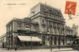 CPA - Cherbourg - Le Théâtre - Cherbourg