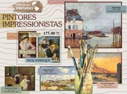 M11524b Mozambique 2011 The World Of Paintings Impressionism S/s Edouard Manet - Impressionisme