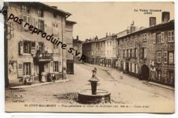- St- JUST-MALMONT - C'est  St Didier En Velay, Erreur Du Titre ?,  Place, Débit De Tabac, Fontaine, TBE,  Scans . - Autres Communes