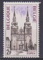 Belgique N° 1685 ** Tourisme - Eupen - Eglise St-Nicolas  - 1973 - Unused Stamps