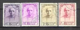 Belgique - N° 342 à 345 Cardinal Mercier Obl. - Used Stamps
