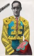 Carte Brodée : Costume Régional : Torrero Julio Aparicio - Bestickt