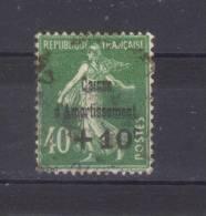 N°  253  Oblitéré  + 10 C Sur 40 C - France