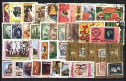 Nice Set 40 Grand Format World Used - Postzegels