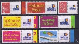 PERS 10 - Timbres Personnalisés N° 3587A-3621A-3623A-3636A-3637A-3 741A-3760A- Neufs**logo Timbres Personnalisés - France