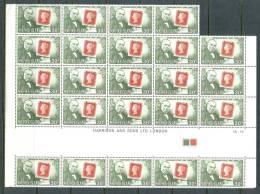 1979 NORFOLK ISLAND SIR ROWLAND HILL SHEET X24 Stamps MICHEL: 231 MNH ** - Rowland Hill