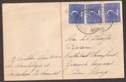 Briefkaart 1946 November Geuzendam Nr 229 3x 2ct Over 7,5ct Rood. WaaromÂ… - Postal Stationery