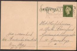 Briefkaart 1947 December - Geuzendam Nr 235a Roomkleurig Karton - Postal Stationery