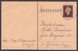 Briefkaart 1947 September - Geuzendam Nr 240b Zeemkleurig Karton - Postal Stationery