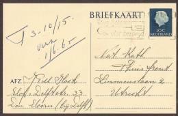 Briefkaart 1964 Geuzendam Nr 271 - Postal Stationery