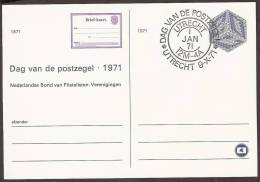 Briefkaart 1971 Jubileumkaart 100 Jaar Nederlandse Briefkaart - Geuzendam Nr 291 - Postal Stationery