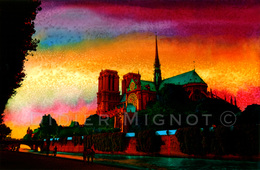 """""""ile De Notre-Dame  Paris""""   Didier Mignot - Andere"""