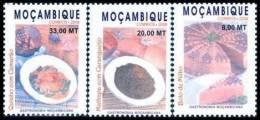 mM3079-81 Mozambique 2008 Gastronomia 3v