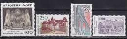 N° 2704 à 2707 Série Touristique: Chevrié,Carennac,Wasquehal, Vallée De Munster - Ungebraucht